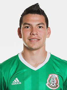 Hirving Lozano, atacante do México