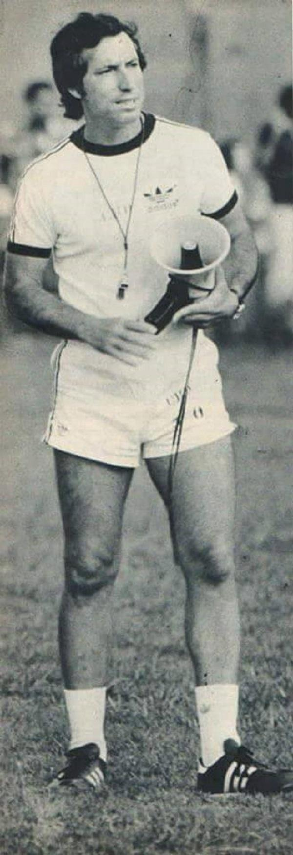Cláudio Coutinho, técnico da seleção brasileira na Copa do Mundo de 1978