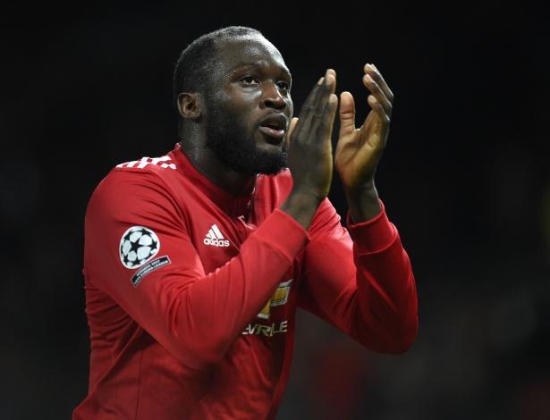 O atacante belga Romelu Lukaku, do Manchester United