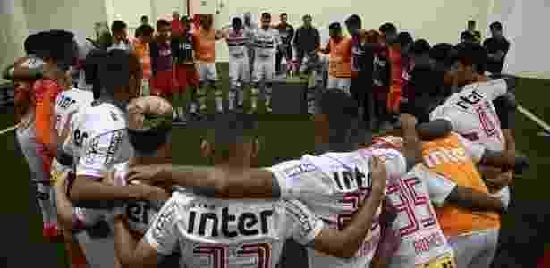 Elenco do São Paulo mostra união por um 2018 melhor para o clube - Rubens Chiri/saopaulofc.net