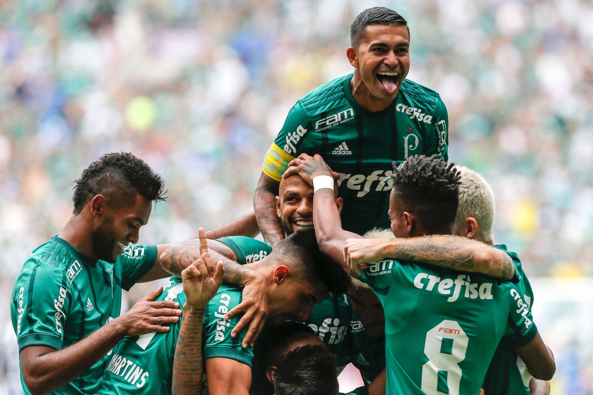 Palmeiras domina o Santos c30a69c472136