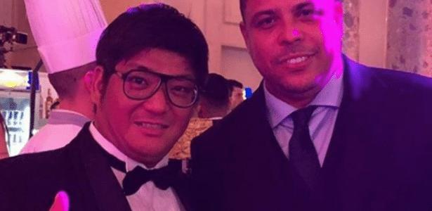 Ronaldo também esteve na festa de aniversário de Neymar