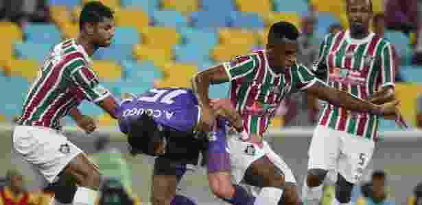 Gum, Digão e Airton estão entre os que conversam com a direção do Fluminense - REUTERS/Sergio Moraes