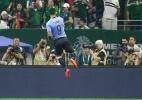 Suárez comanda goleada do Uruguai sobre México em amistoso nos EUA - Bob Levey/AFP