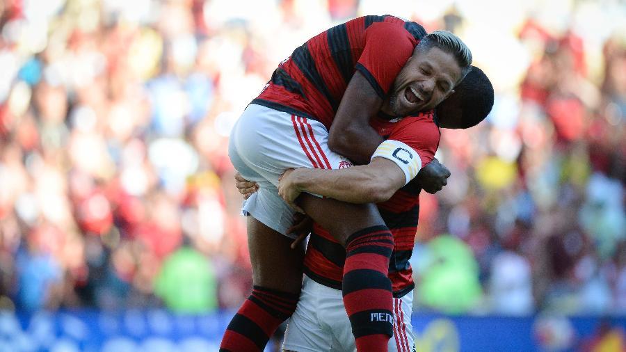O Flamengo divulgou hoje os inscritos na Copa Libertadores da América de 2019 - Alexandre Vidal/CR Flamengo