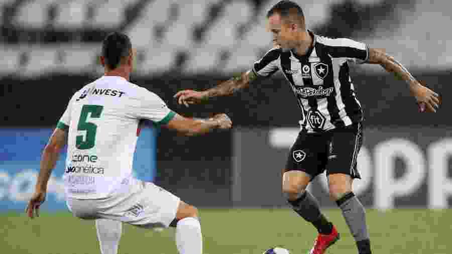 Botafogo x Portuguesa-RJ pelo Campeonato Carioca do ano passado, no Nilton Santos - @Botafogo