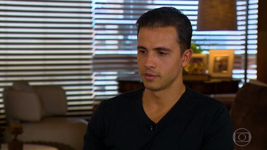 Nilmar se emociona em entrevista ao Esporte Espetacular ao falar sobre depressão  - Reprodução/TV Globo