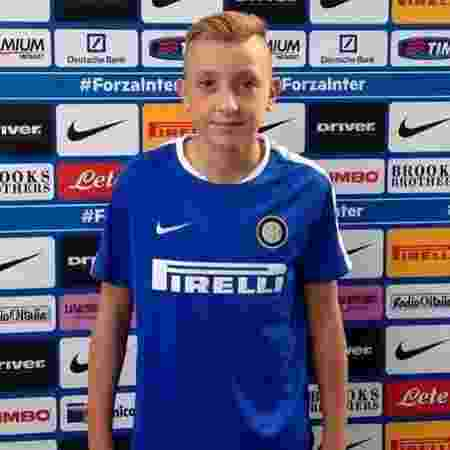 Maicol Lentini, jovem promessa da Inter de Milão - Reprodução/Instagram