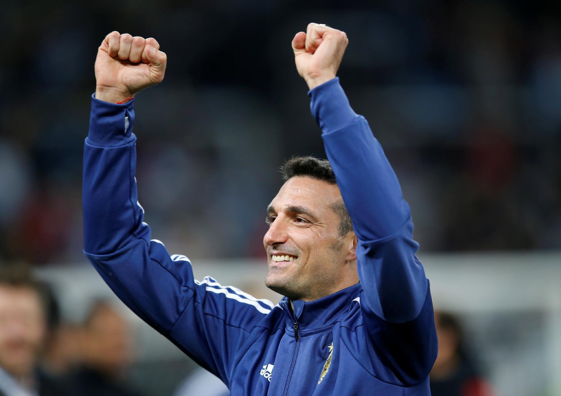 Lionel Scaloni, técnico da seleção argentina