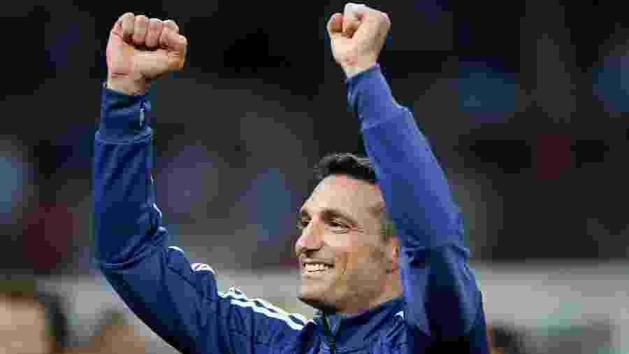 Lionel Scaloni, técnico da seleção argentina - REUTERS/Luisa Gonzalez