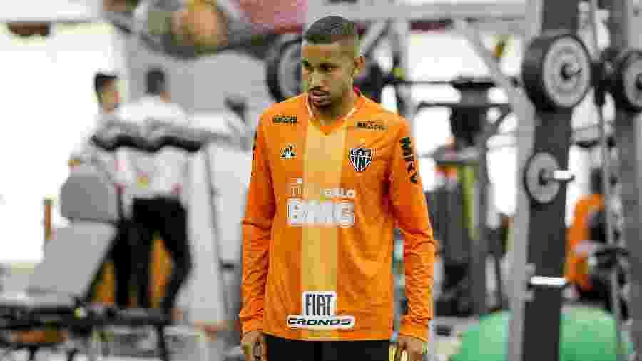 Jair, volante do Atlético-MG, está fora da partida contra o Fluminense, neste fim de semana - Bruno Cantini/Divulgação/Atlético-MG