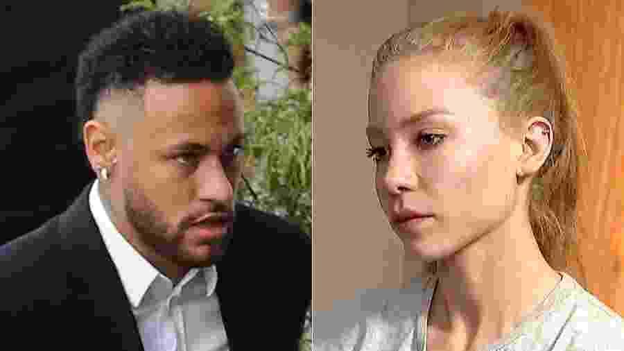 Neymar e Najila marcaram um encontro em Paris e, depois disto, a modelo acusou o jogador de estupro - Reuters - Reprodução / Montagem UOL