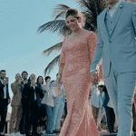 Kaká escolheu um terno azul claro para seu casamento com Carol Dias - Reprodução/Instagram