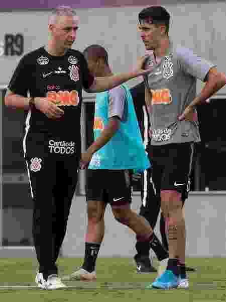 Danilo Avelar passou a atuar como zagueiro após a chegada de Tiago Nunes no Corinthians - Daniel Augusto Jr/ Corinthians