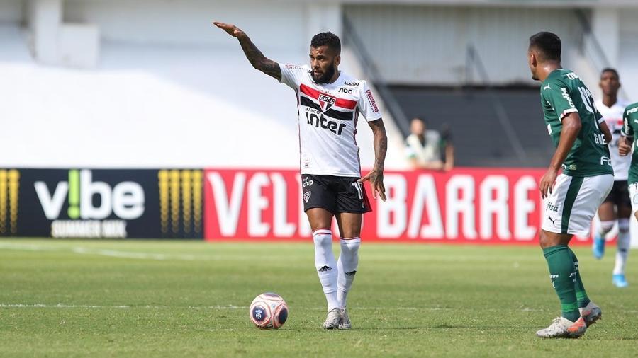 Daniel Alves, do São Paulo - Rubens Chiri/saopaulofc.net
