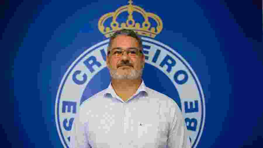 Rogério Micale estava sem trabalhar desde 2018, quando deixou o comando do Figueirense - Divulgação/Cruzeiro