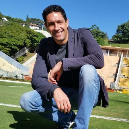 Gustavo Borges no gramado do Pacaembu - Reprodução/Whatsapp