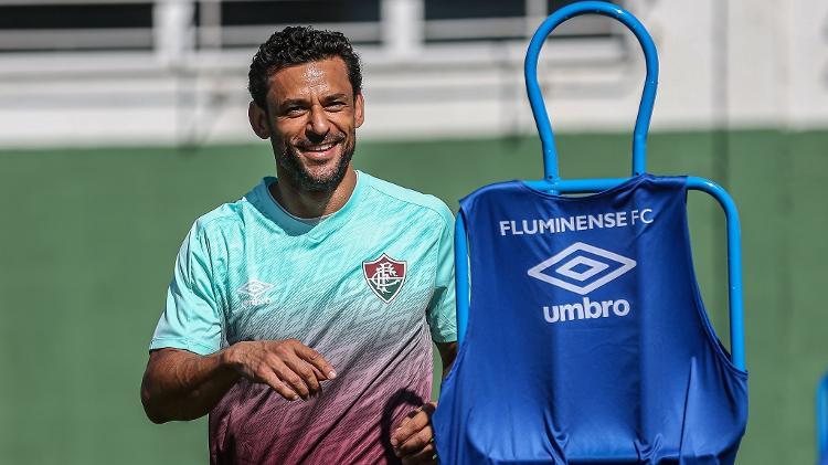Fred será banco em reestreia pelo Fluminense no Brasileirão - Lucas Merçon/Fluminense FC - Lucas Merçon/Fluminense FC