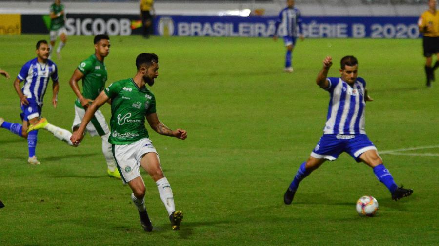 Jogo entre CSA e Guarani pela abertura da Série B 2020 - Bruno Fernandes/Jornal Extra