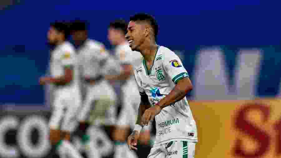 Matheusinho foi o autor do segundo gol do Coelho contra o rival - Mourão Panda/América