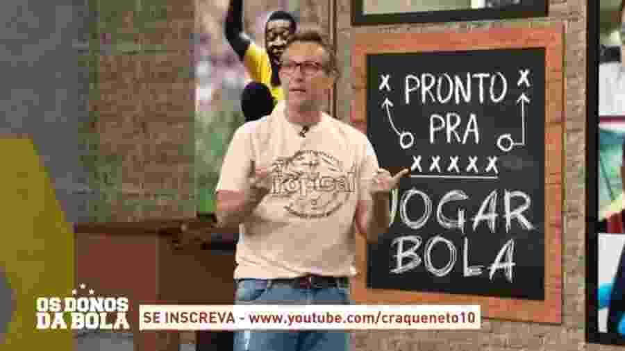 Neto lista mudanças que faria se fosse presidente do Corinthians - Reprodução/Band