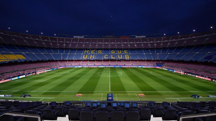 Barcelona é o primeiro clube em perda de receitas durante a pandemia - Alex Caparros - UEFA/UEFA via Getty Images