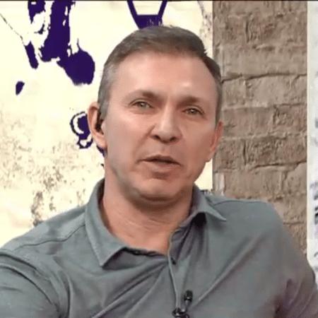 Velloso, comentarista do Os Donos da Bola - Reprodução/TV Band