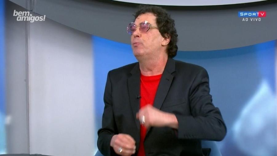 Casagrande agradece Neto por o defender contra Ana Paula - Reprodução/SporTV