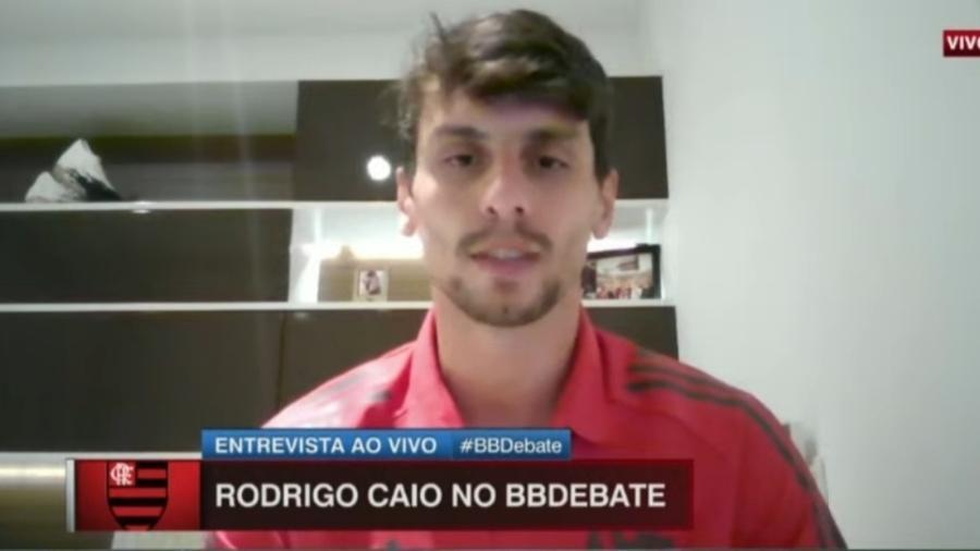 Rodrigo Caio manda recado para Luan, do Palmeiras, após Supercopa - Reprodução/ESPN