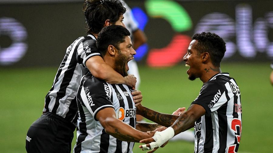 Hulk, uma das estrelas do Galo na temporada, marcou o seu décimo gol nos últimos doze jogos pelo clube - Divulgação/Mineirão