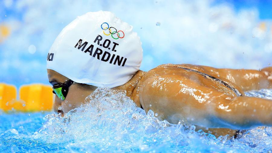 Yusra Mardini disputará os Jogos Olímpicos pela segunda vez na carreira - Vaughn Ridley/Getty Images