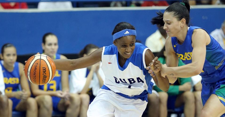 Cuba e Brasil se enfrentam valendo a medalha de bronze no basquete feminino