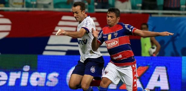 Thiago Ribeiro machucou um dedo da mão durante o jogo contra o Fortaleza