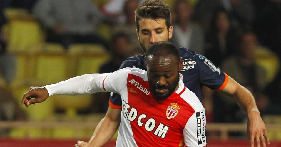 Vagner Love teve desempenho abaixo na média em sua última partida pelo Monaco nesta temporada