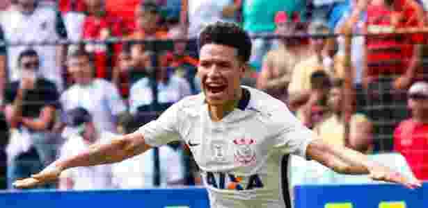 Marquinhos Gabriel começou bem sua passagem pelo Corinthians com belos gols - Clelio Tomaz/AGIF