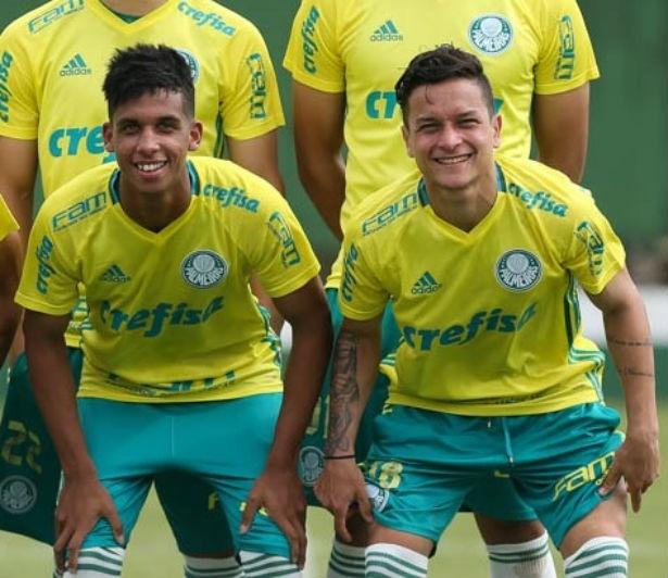 Vitinho e Artur foram promovidos ao time profissional do Palmeiras