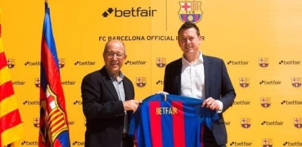 Parceria entre Barcelona e Betfair foi anunciada por Manel Arroyo