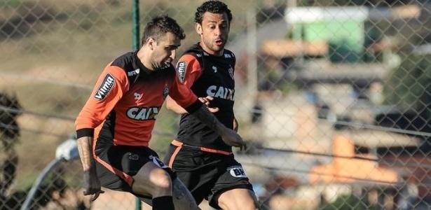 Atlético-MG tem dívida por conta de negócios envolvendo Lucas Pratto e Fred - Bruno Cantini/Atlético-MG