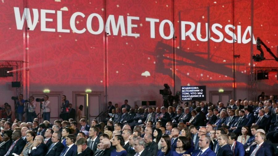 Rússia vai receber em 2018 a Copa do Mundo de futebol - MAXIM SHEMETOV / Reuters