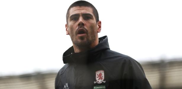 Victor Valdés defendeu o Middlesbrough na última temporada