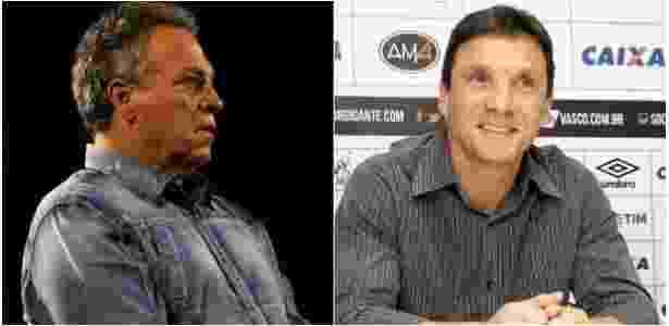 Abel Braga é bem mais caro do que Zé Ricardo, mas não foi descartado - Montagem/UOL