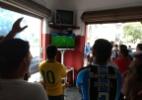 """Torcida """"geromista"""" celebra desarmes e pisão de capitão em CR7 - Adriano Wilkson/UOL"""