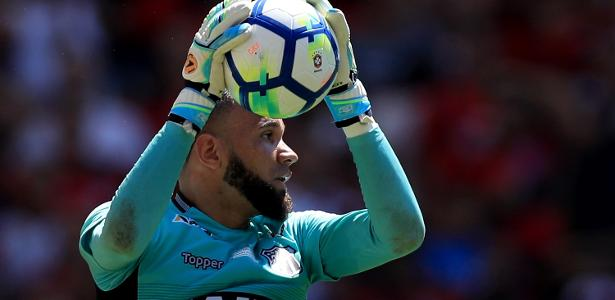 Èverson, goleiro do Ceará, está nos planos do Grêmio para repor saída de Grohe - Buda Mendes/Getty Images