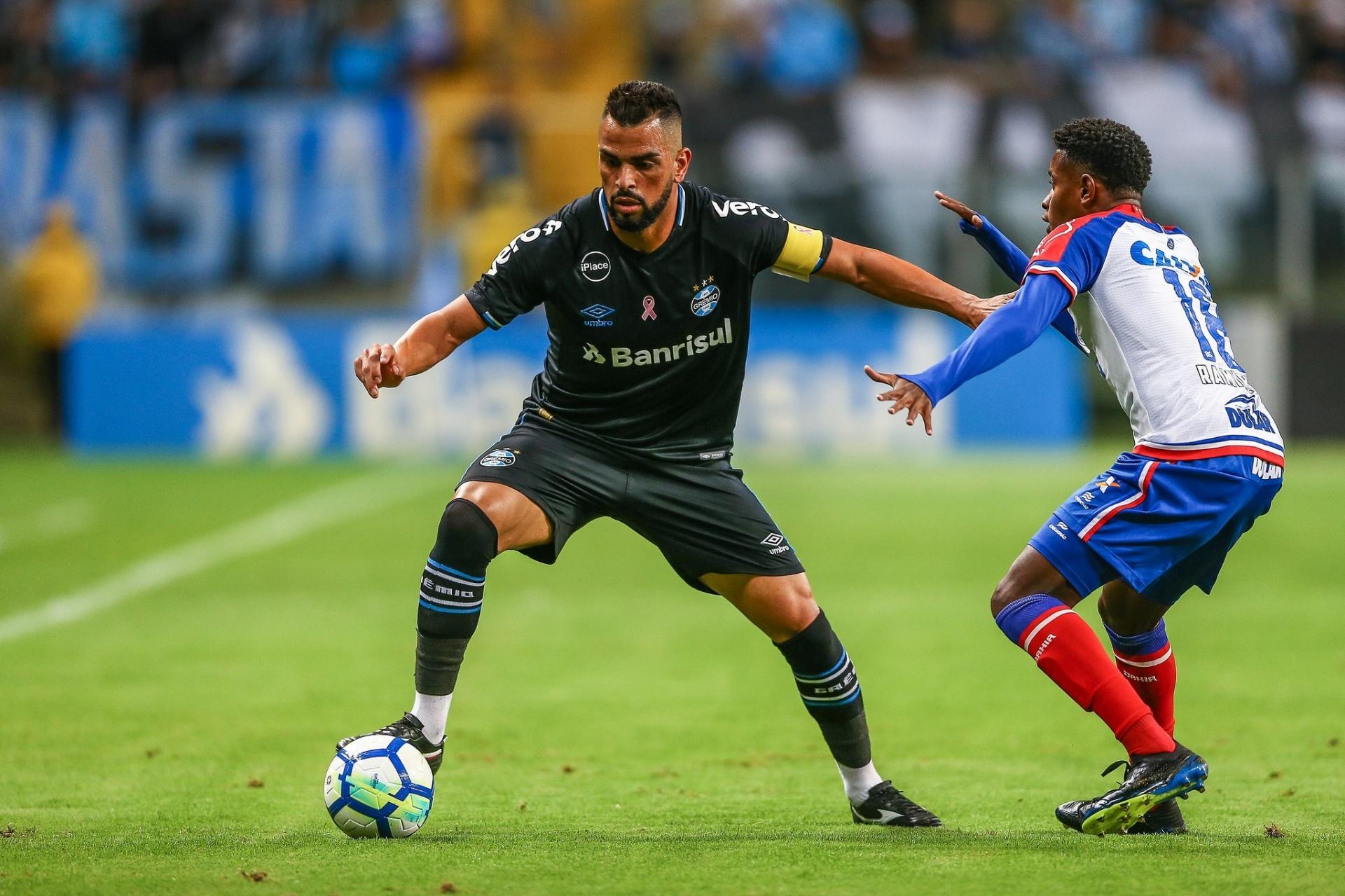 Empate em casa vira  pedra no sapato  do Grêmio no Brasileirão - 07 10 2018  - UOL Esporte 3772f3381921e
