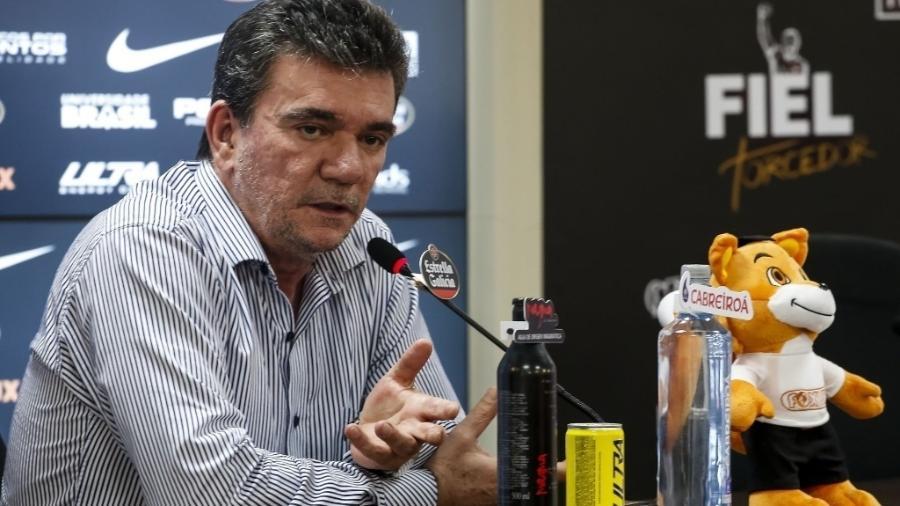 Andrés Sanchez está internado com um quadro de encefalite viral - Rodrigo Gazzanel/Ag. Corinthians