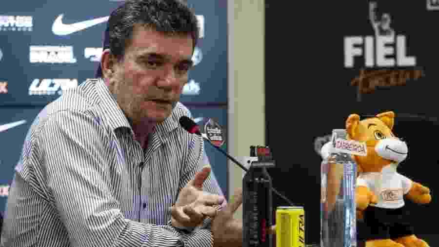 Presidente do Corinthians, Andrés Sanchez está internado com um quadro de encefalite viral  - Rodrigo Gazzanel/Ag. Corinthians