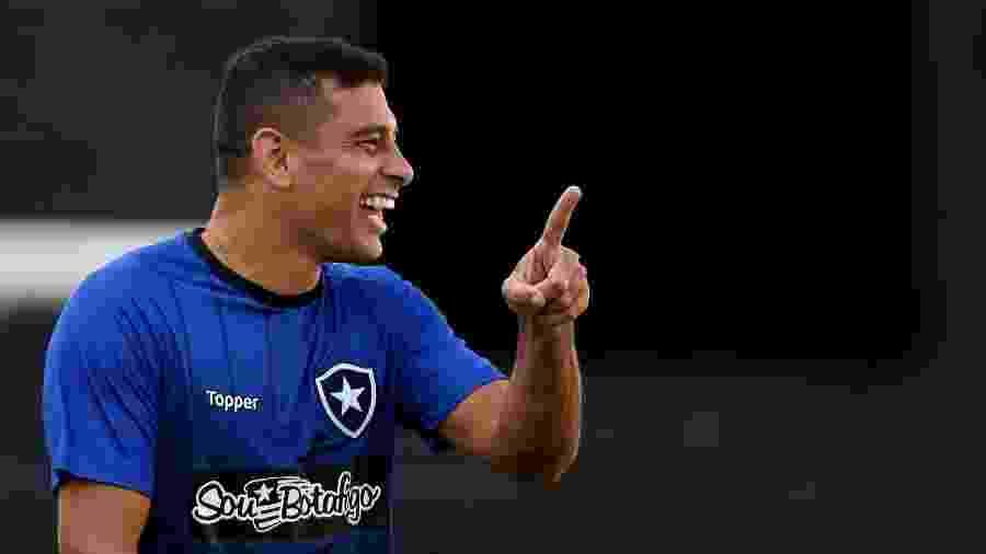 Diego Souza tem tido bom aproveitamento contra times da parte de baixo da tabela - VITOR SILVA/SSPRESS/BOTAFOGO