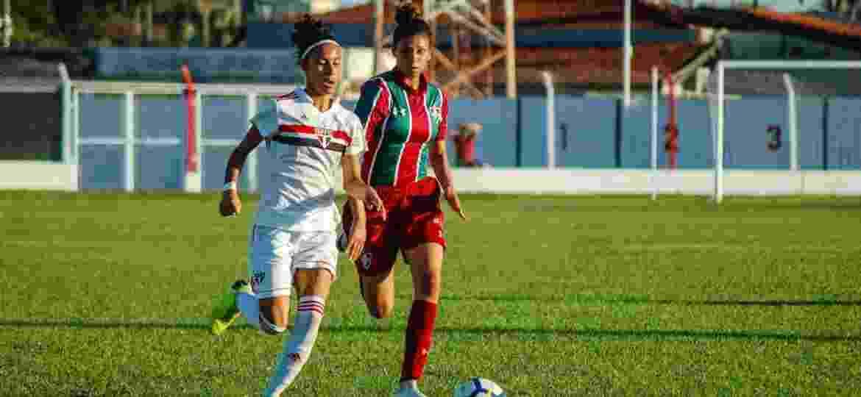 São Paulo venceu o Fluminense; resultado acabou impugnado pelo STJD - Laís Patricio/FFC