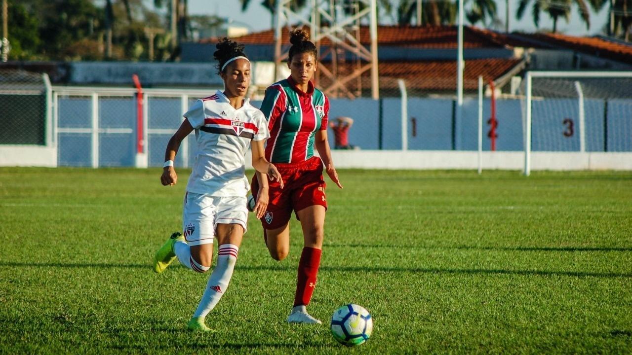 Fluminense e São Paulo, Brasileirão sub-18 feminino