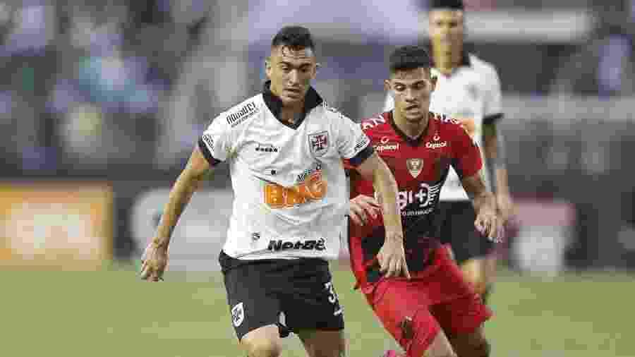 Volante Raul foi um dos destaques do Vasco no empate em 1 a 1 com o Athletico-PR em São Januário - Rafael Ribeiro / Vasco
